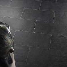 NATURAL GREY CONCRETE TILE Walls Ceilings Pinterest Concrete - Dark gray rectangular floor tile