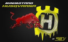maly-minimoto: minimotard HUSQVARNA