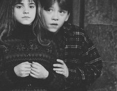 cute Hermione and Ron