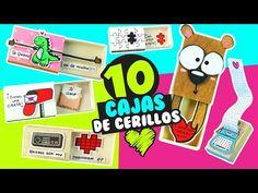 10 CARTAS en ️CAJITAS DE CERILLOS para toda ocasión ★ DIY Manualidades fáciles y sencillas ★ ✌ - YouTube