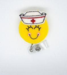 Nora la cuerda de enfermera insignia carrete RN por BadgeShack