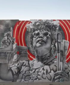 """New mural in Los Angeles: 'The Mother Creator II"""""""