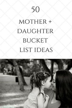 Mommy Daughter 50 Mother Daughter Bucket List Ideas Mommy DaughterSource : 50 Mother Daughter Bucket List Ideas by ruthschl Raising Daughters, Raising Girls, Parenting Advice, Kids And Parenting, Parenting Humor, Foster Parenting, Mommy Daughter Dates, Daughter Quotes, Slimming World