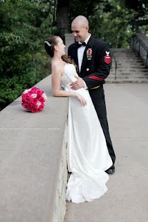 Military Wedding #BridesAcrossAmerica #TulleBridals #Wedding bridesacrossamerica.com