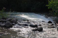 Flowing  fresh water