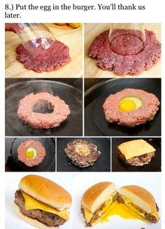 Burgers n eggy