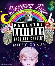 Miley Cyrus-so excited! I have 18 days till I go to this with one of my all time best friends!