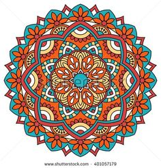 Mandala. Ornamental round pattern. - buy this stock vector on Shutterstock & find other images.