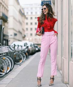 aaTv izle : Combinations Of Stylish Pink Outfits For Women Fashion Mode, Pink Fashion, Love Fashion, Fashion Looks, Fashion Outfits, Womens Fashion, Fashion Trends, Office Fashion, Fashion Addict