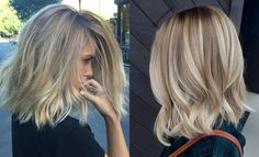 Trendy Lob Hairstyles For A Cutest Look //  #Cutest #Hairstyles #look #trendy
