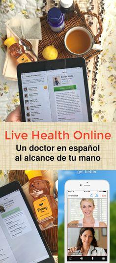 Live Health Online : Un doctor en español al alcance de tu mano mediante un app en tu celular o tableta. Ya no tienes que ir a la oficina del doctor para consultas rutinarias #LiveHealthOnline @weallgrow #WeAllGrow AD