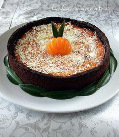 La Cuoca Dentro: Cheesecake al cioccolato bianco e mandarini
