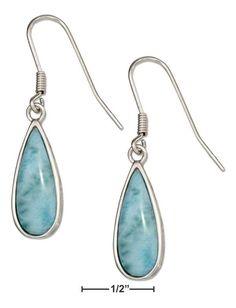 Jewelry & Watches Active Sterling Silver Earrings Single Drop Mystic Blue Quartz Pear Cut Briolette Online Discount