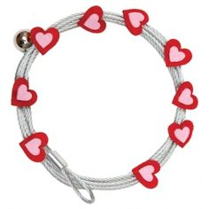 Mishu Mighty Magnet Photo Cable Red Hearts: Red/Pink, Heart, Cable, (model price per each Artist Supplies, Red Hearts, Photo Magnets, Valentine Day Crafts, Red And Pink, Cable, Personalized Items, Pictures, Photos