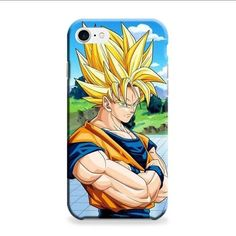 Sun Goku Saiyan iPhone 7 Plus 3D Case
