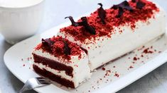 Red Velvet Cake: hrnkový recept na dezert z červené řepy Red Velvet, Ricotta, Tiramisu, Meals, Cooking, Cake, Ethnic Recipes, Food, Essen
