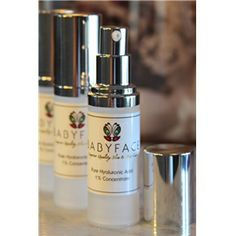 Babyface 100% Pure Hyaluronic Acid Concentrate. Mix with your favorite serums and lotions for an added hydration boost!