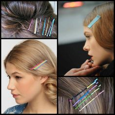 Great Hair Accessories: Bright Bobby Pins