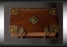 Large, ornate book binding circa 1620 - 17th C