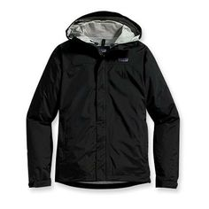 Patagonia Womens Torrentshell Jacket (Black, Size S) $129