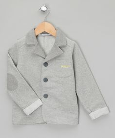 Grey Blazer - Infant, Toddler & Kids by Whoopsy Baby