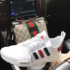 Gucci x Adidas nmd Cop or Drop? Comment below . Gucci Sneakers, Gucci Shoes, Sneakers Fashion, Women's Shoes, Shoe Boots, Shoes Sneakers, Custom Sneakers, Vintage Sneakers, Jordan Retro
