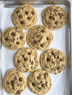 The best oatmeal chocolate chip cookies! Soft, chewy, thick, and giant sized. Cause who doesn't need a giant cookie in their life? Chocolate Chip Cookies Recipe Video, Oatmeal Chocolate Chip Cookies, Cookie Bars, Cookie Dough, Best Oatmeal, Cookies Soft, Cookie Recipes, Favorite Recipes, Treats
