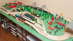 BRIO Wooden Railway Guide - Train Tables