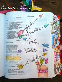 I've been on a bible journaling kick for awhile now, and I've finally got enough pages behind me now to recommend some bible journaling supplies and know what I'm talking about ;-). (You know, plus, I