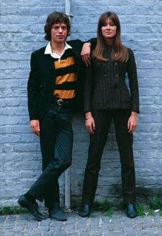 Mick Jagger & Françoise Hardy