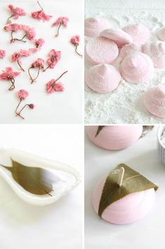 Strawberry Sakura Marshmallows