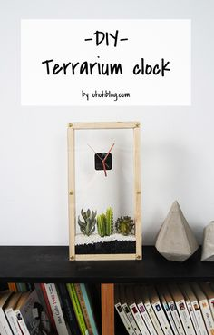 How to make a succulent clock