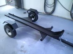 homemade motorcycle trailer