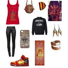 """Hogwarts"" by jujubeaners1 on Polyvore"