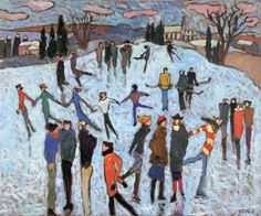 The Lisa Porter Collection : A visit with Claude Simard Canadian Painters, Canadian Artists, Impressionist Paintings, Landscape Paintings, Landscapes, Kentucky Horse Farms, Call Happy, Happy Paintings, Painting Inspiration