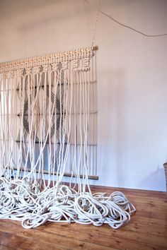 """Until recently, you couldn't hear the word """"macramé"""" without it conjuring up visions of thrift-store place mats, summer camp friendship brac..."""