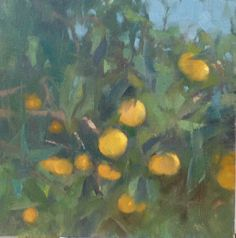 Painting a Day, Impressionist oil landscape sketch by artist Steve Allrich.