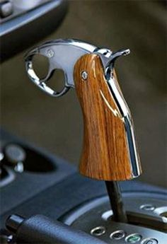 Revolver Grip Shifter what would the cop say