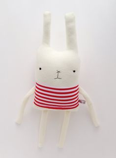 Love these cool, quirky, handmade stuffed animals