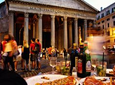 What to do in Rome PART 2 - (Eat in front of pantheon)-wanderluststorytelles