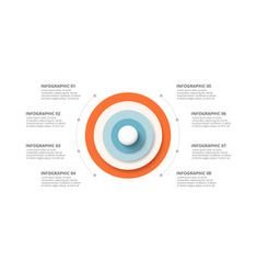 Royalty-Free Vector Images by (over Circle Infographic, Infographic Templates, Infographics, Circle Graph, Circle Diagram, Free Vector Images, Vector Free, Circle Arrow, Process Chart