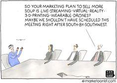 technology can't save a boring marketing idea- Tom Fishburne