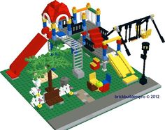 City Playground Instructions - Brickbuilderspro Store. Lots of Lego Instructions on this site.