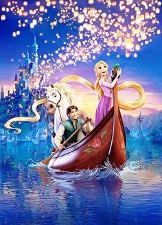 Walt Disney Posters - Tangled - walt-disney-characters Photo