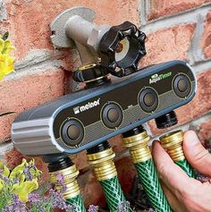 Control And Set Schedules For Your Garden Hoses From Your Smartphone $90