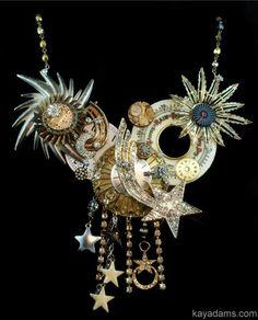 Atomic Explosion Necklace. The Time Traveler's Wife.  por KayAdams, $300.00