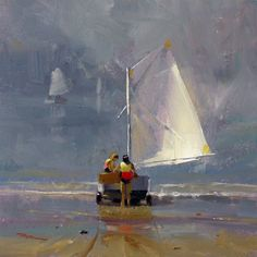 SmoothSailing  Oil on Canvas by Richard Robinson