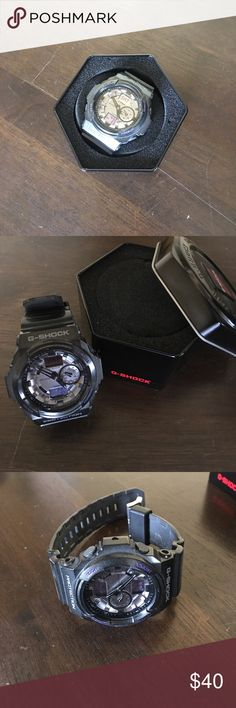 Casio G-SHOCK Watch Casio G-SHOCK Watch (manual not inuded) G-Shock Accessories Watches