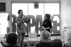 With Dr Tomas Chamorro Premuzic, from UCL, Co-creator of META,  final public event Make a Wave PI round 2. March 2013