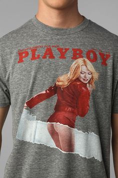 Playboy Ripped Tee  #UrbanOutfitters